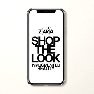 Discover Zara Studio collection through Augmented Reality by @ezrapetronio. Available April 12th. Download the app through l...