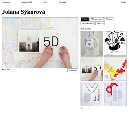 Ateliér 304 | Jolana Sýkorová - Mezi krajinou a městem