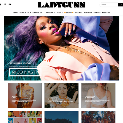 LADYGUNN | Authenic voices and stories.