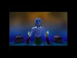 Majora's Mask - Moon Warp
