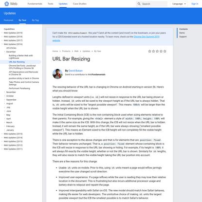 URL Bar Resizing | Web | Google Developers