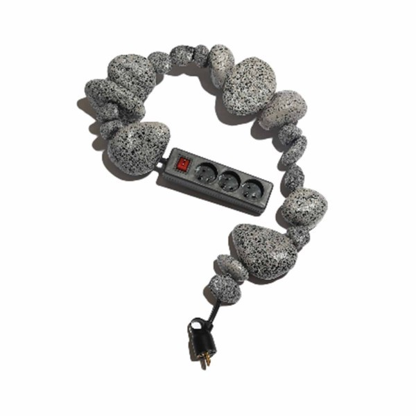 BLESS N°26 Cable Jewellery - Multiplug Artificial Stones