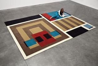 Andrea Zittel, A-Z Carpet Furniture: Cabin 2012