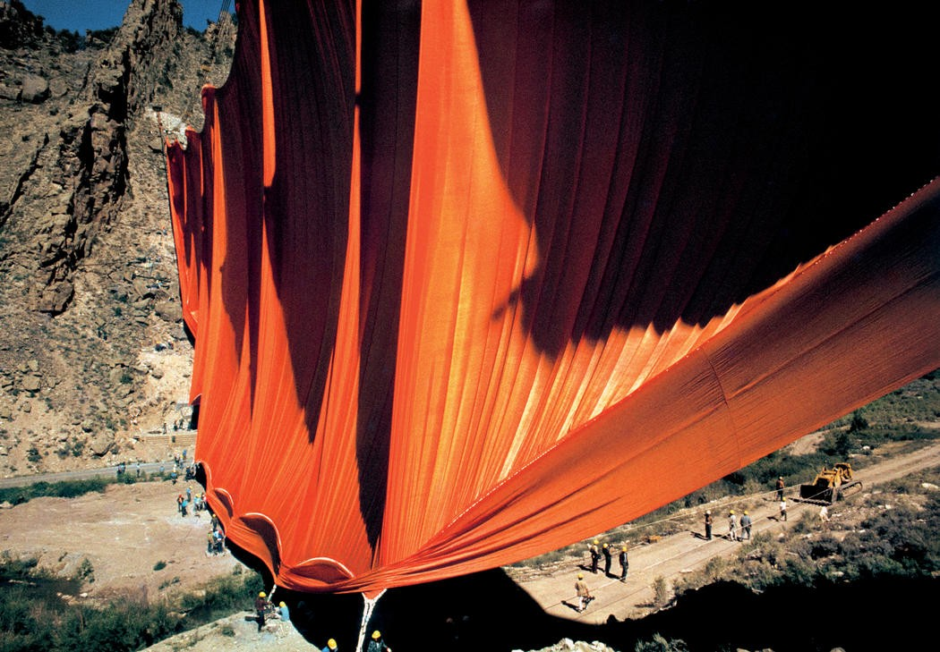 Christo and Jeanne-Claude Valley Curtain