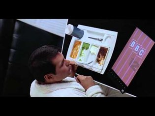 iPad / tablet PC in the film '2001 A SPACE ODYSSEY' (1968)