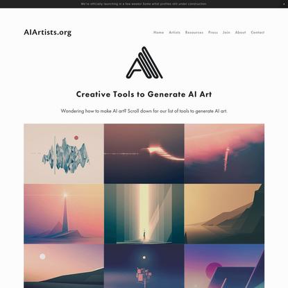 AI Art Generators: How to Make AI Art (2019 UPDATE) - AIArtists.org