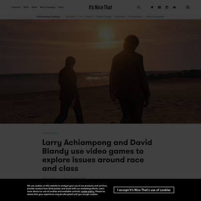 Larry Achiampong and David Blandy use video games to explore issues around race and class