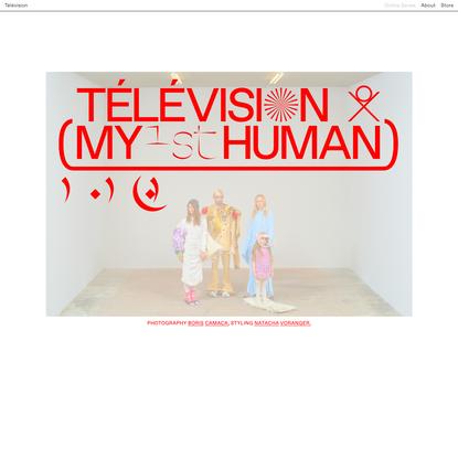 OL 1802 BC 1STHUMAN (BC, NV) - Télévision