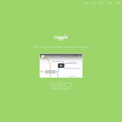Coggle - Simple Collaborative Mind Maps
