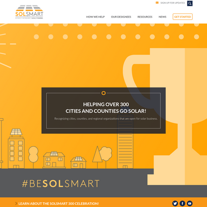 SolSmart | Nationally Distinguished. Locally Powered.