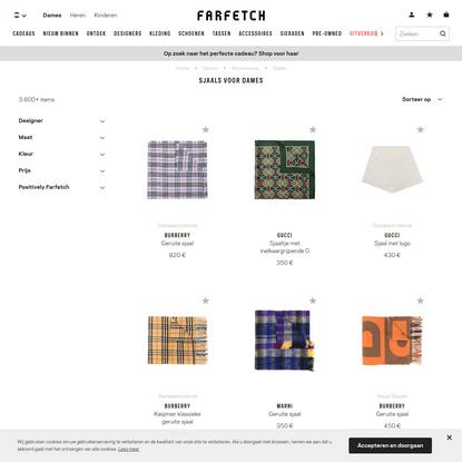 Designer-Sjaals voor dames 2019 - Farfetch