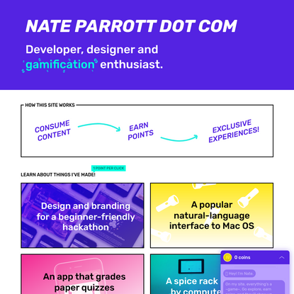 Nate Parrott's Nice and Engaging Website