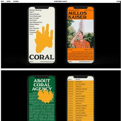 Coral - Sometimes Always