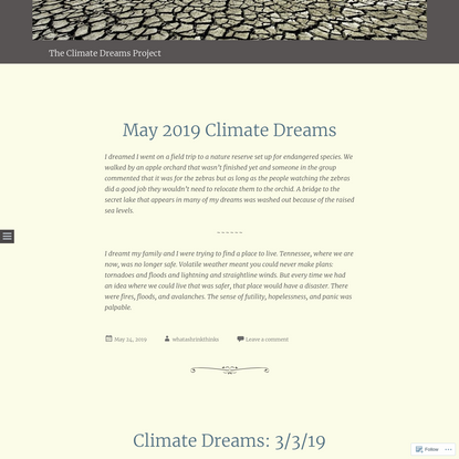 The Climate Dreams Project