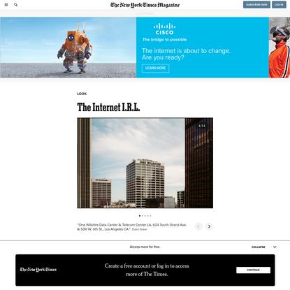 The Internet I.R.L.