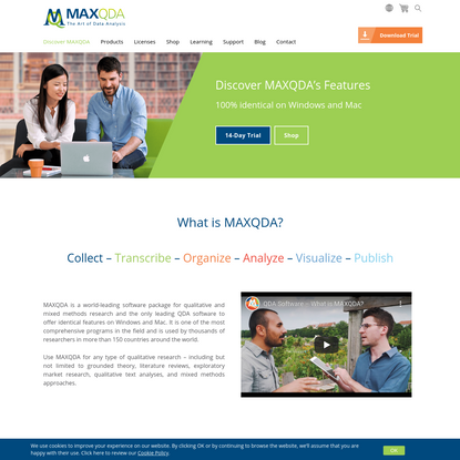 MAXQDA   Software for Qualitative and Mixed Methods Research
