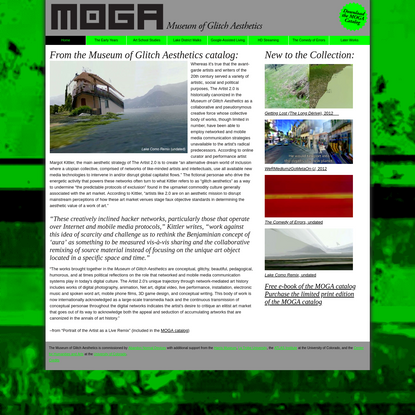 MOGA: Museum of Glitch Aesthetics