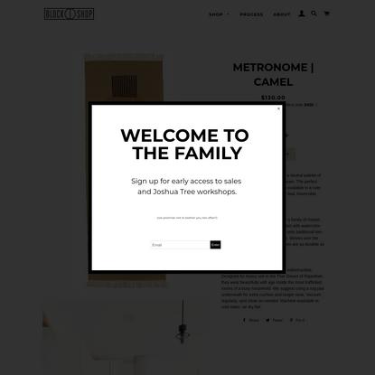METRONOME | CAMEL
