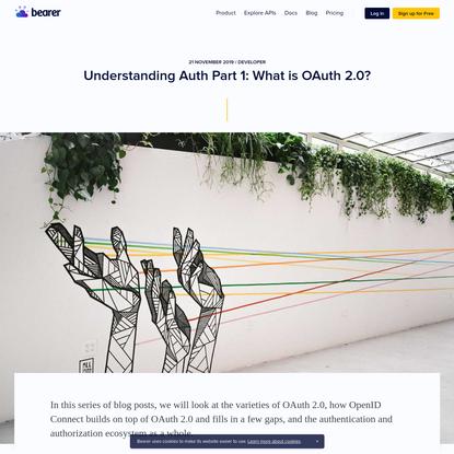 Understanding Auth Part 1: What is OAuth 2.0? | Bearer blog