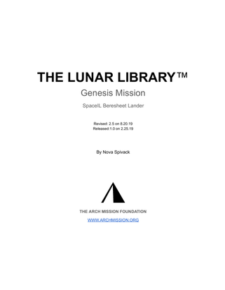 ArchMission - Overview of the Lunar Library