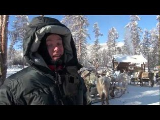 Extreme cold travel; Travelling with the reindeer people in below 50 minus in Siberia