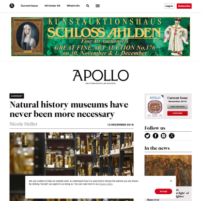The future of natural history museums   Apollo Magazine
