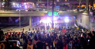 Traffic Blocking During Protests