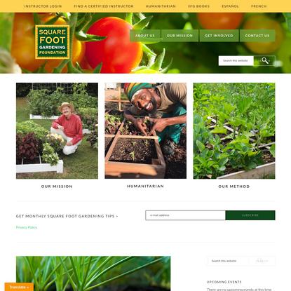 Square Foot Gardening Foundation