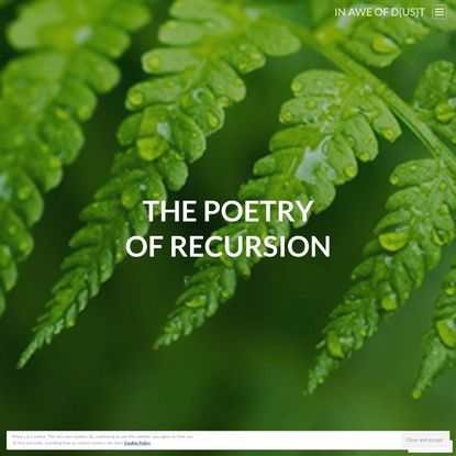 The Poetry of Recursion