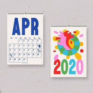 Grab one of our #2020 A3 Wall #Calendars before they fly 🤲💐 we've got multi buy deals this year - so you can buy for yoursel...