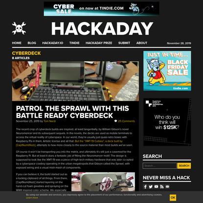 cyberdeck - Hackaday