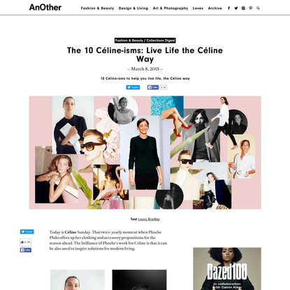The 10 Céline-isms: Live Life the Céline Way