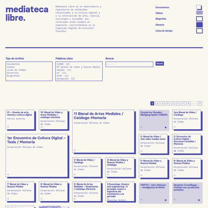 mediateca libre   arte, ciencia, tecnología y cultura digital