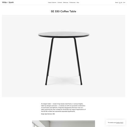SE 330 Coffee Table | Wilde + Spieth