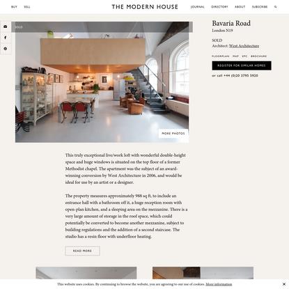 Bavaria Road London N19 | The Modern House
