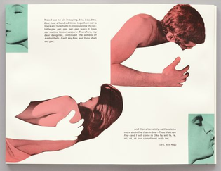 John Baldessari's photo-collages for the limited edition of Tristram Shandy, published in 1988