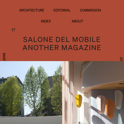 Salone del Mobile - AnOther magazine | Mary Gaudin