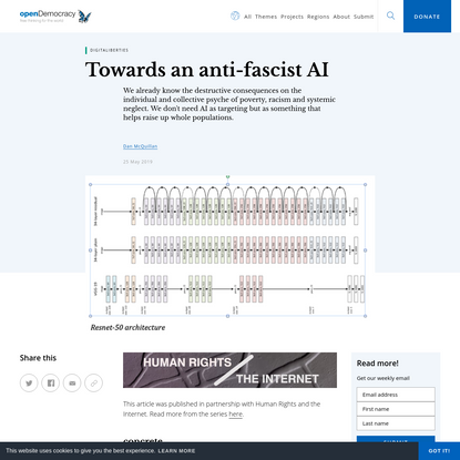 Towards an anti-fascist AI