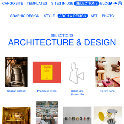 Architecture & Design - Put your projects on the Web.