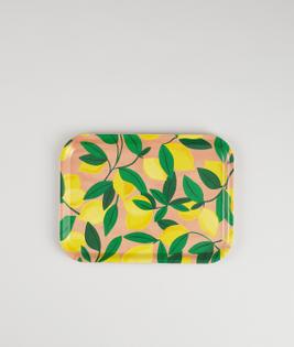 Lemons Mini Rectangle Tray