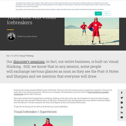 Three Kick-Ass Visual Icebreakers