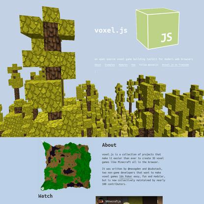 voxel.js * blocks in yo browser