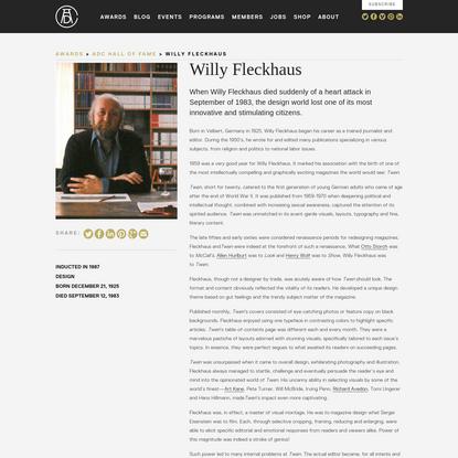 Willy Fleckhaus
