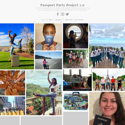 Passport Party Project