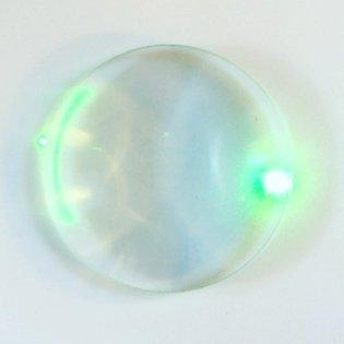 Laser with lens #experiment #laser #lens #light #green #ocolus #reflection #circle #line