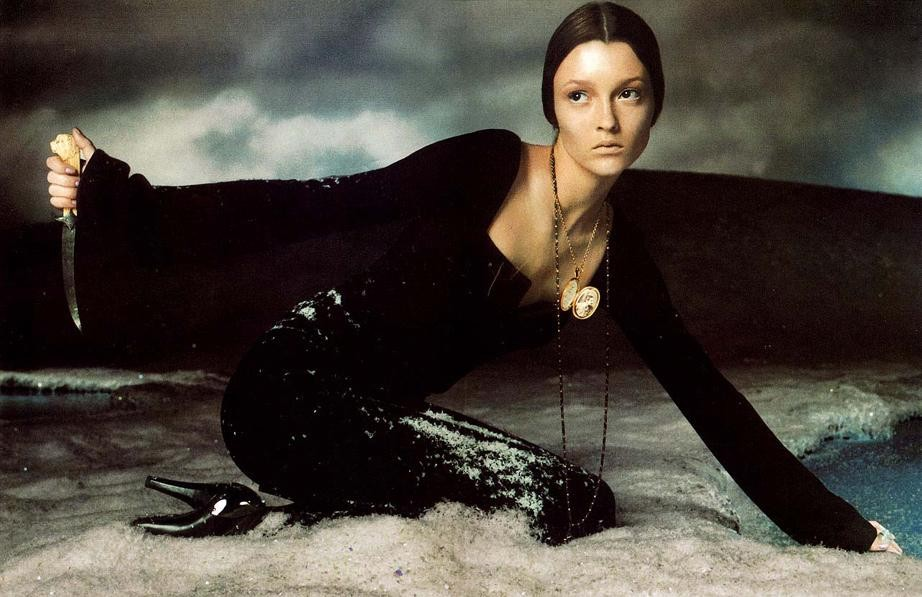Steven Meisel 1998 Versace Fall/Winter Ad Campaign