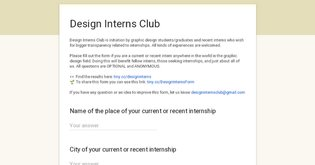 Design Interns Club
