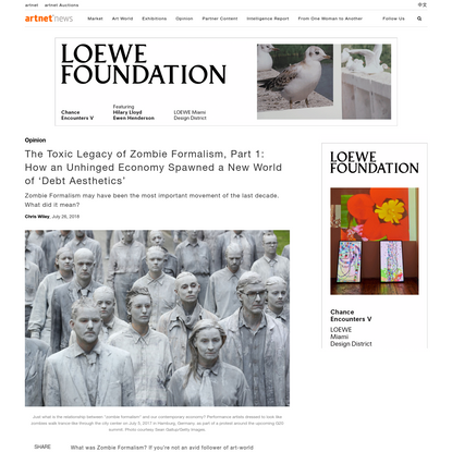 The Toxic Legacy of Zombie Formalism, Part 2: How the Art System's Entropy Is Raising the Political Stakes for Culture   artnet News