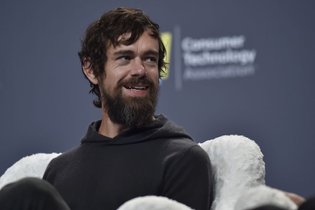 All black, hoodie, unkempt hair - Jack Dorsey