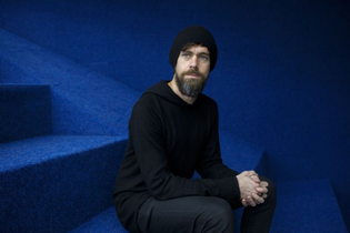 All black, sweatshirt, beanie - Jack Dorsey